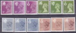 Gran Bretaña 1151/1162 ** MNH. 1984 - 1952-.... (Elizabeth II)