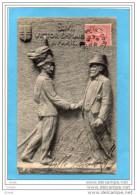 S M  VICTOR EMMANUEL -roi D'ITALIE-à PARIS--serrant La Main Du Président  Français-a Voyagé En 1903 - Réceptions