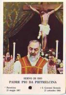 Reliquia Del Servo Di Dio Padre Pio, Santino Pieghevole Con Preghiera - Religione & Esoterismo