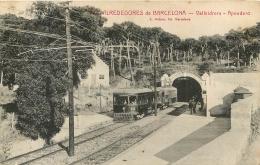 BARCELONA ALREDEDORES VALLVIDRERA APEADERO - Barcelona