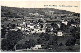 CPA 69 ( RHONE ) - LA VILLE - Vue Générale - - Francia