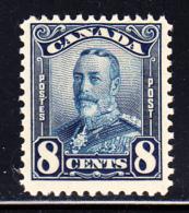 Canada MH Scott #154 8c George V Scroll Issue - Neufs