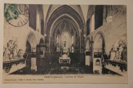 Cpa Neffies Herault Interieur De L'eglise 1914 - DAL03 - Otros Municipios