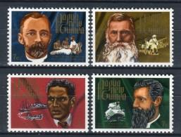 Papua Nueva Guinea 1972. Yvert 228-31 ** MNH. - Papouasie-Nouvelle-Guinée