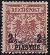 Deutsches  Reich   Turkei     Michel    18  I       O       Gebraucht  /  Cancelled  /  Gebruikt - Deutsche Post In Der Türkei