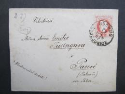 BRIEF Budweis - Pacov 1882   /// D*20493 - Briefe U. Dokumente