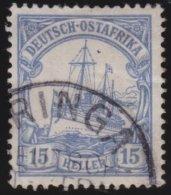 Deutsches  Reich   Ost Afrika   Michel    25            O       Gebraucht  /  Cancelled  /  Gebruikt - Colonie: Afrique Orientale