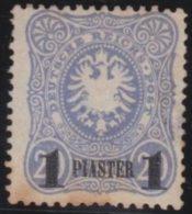 Deutsches  Reich    Turkei       Michel    3    Etwas  Rust         ( * )                  Kein  Gummi  /  No Gum - Deutsche Post In Der Türkei