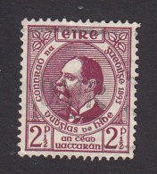 Ireland, Scott #125, Used, Dr. Douglas Hyde, Issued 1943 - 1937-1949 Éire