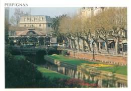 CPM - 66 - PERPIGNAN - Le Palmarium Et Les Quais - Perpignan