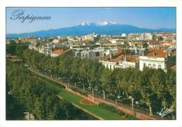 CPM - 66 - PERPIGNAN - Vue Générale, Au Fond, Le Canigou - Perpignan