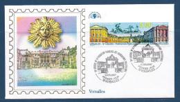 Env Fdc 17/5/97 Versaill, N°3073 Y Et T , Congrès Philatélique à Versailles, Le Château, Le Roi Soleil - 1990-1999