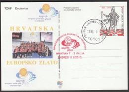 Croatia Zagreb 2010 / European Water Polo Championship / Final Game Croatia - Italy / Croatian European Gold