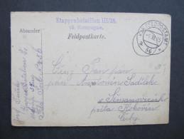 GANZSACHE Korrespondenzkarte Feldpost K.u.k.Feldpostamt Nr.56 // D*20521 - Briefe U. Dokumente