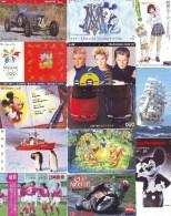 GROS LOT De 7000 TELECARTES Japon (Lot 672) 7.000 Japan Phonecards Telefonkarten * A PETIT PRIX * Nombreux Thèmes - Télécartes