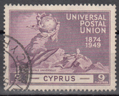 Cyprus   Scott No   163     Used    Year  1949 - Gebraucht