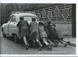 Robert Doisneau - La Panne D'essence 1955 - Tirage Photographique Papier Mat - - Reproductions