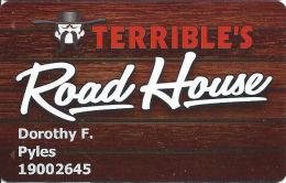 Terrible´s Road House Casino Pahrump, NV - Slot Card - Casino Cards
