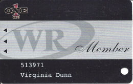 Wendover Resorts - Wendover Nugget & Red Garter Casinos - Wendover, NV - Slot Card - Casino Cards