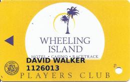 Wheeling Island Casino - Players Club Slot Card - Newer Design Wide Text On Reverse - Casino Cards
