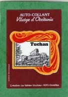 Autocollant Auto-collant Tuchan Vilatge D'Occitania (Création : Los Talhiers Occitans 11120 Ouveillan) - Stickers