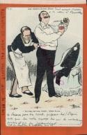 CPA  Fantaisies Illustrateur GUILLAUME  (Invité à Diner)   LEUR TOILETTE  .AV 2016  565 - Guillaume