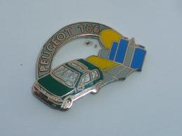 Pin's VOITURE PEUGEOT 106  01 - Peugeot