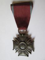POLAND WW II CROSS OF MERIT 3´RD CLASS - Medaillen & Ehrenzeichen