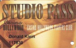 San Felipe´s Casino Hollywood - San Felipe, NM - Slot Card - Last Line Rev Starts ´property´ - Casino Cards