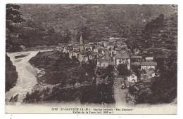 SAINT SAUVEUR SUR TINEE, STATION ESTIVALE, VUE GENERALE, VALLEE DE LA TINEE - Alpes Maritimes 06 - Circulé 1930 - France
