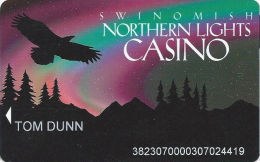 Swinomish Northern Lights Casino Anacortes, WA - Slot Card - Casino Cards
