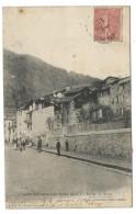 CPA - SAINT SAUVEUR SUR TINEE, LE JEU DE BOULES - Alpes Maritimes 06 - Circulé 1906 - Edit. Foucachon, Puget Théniers - France