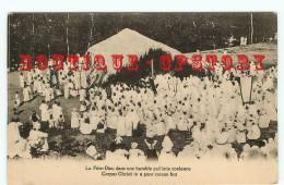 COREE Du SUD - FETE DIEU Dans Une PAILLOTTE COREENNE - CORPUS CHRISTI In A COREAN HUT  - KOREAN - COREAN - DOS SCANNE - Corea Del Sud