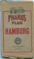 Pharus-Plan Hamburg 20er Jahre - 90cm X 70cm 1:147'000 - Pharus Verlag GmbH Berlin - Karten