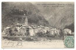 CPA Précurseur  - SAINT SAUVEUR SUR TINEE, VALLEE DE LA TINEE - 06 - Circulé 1904 - France