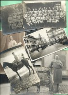 PHOTO MILITARIA: Lot De 24 Cartes Photo (19 Différentes) 5° Régiment Landau Allemagne - Guerre, Militaire