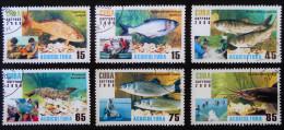 QUACULTURE 2008 - OBLITERES - YT 4560/65 - MI 5049/55 - Cuba