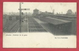 Landen - Intérieur De La Gare - 1902 ( Verso Zien ) - Landen