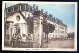 Cpa Du 50  Saint Lo -- Caserne De Bellevue    LIOB95 - Saint Lo