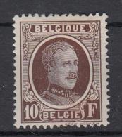 BELGIË - OBP - 1922 - Nr 210  - MH* - 1922-1927 Houyoux