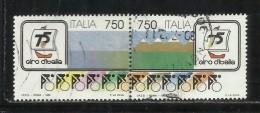 ITALIA REPUBBLICA ITALY REPUBLIC 1992 GIRO CICLISTICO D´ITALIA BLOCCO SERIE COMPLETA BLOCK SET USATO USED OBLITERE´ - 1946-.. Republiek