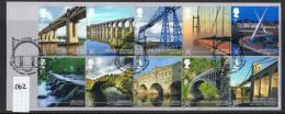 GB 2015 Bridges Set USED On Piece - 1952-.... (Elizabeth II)