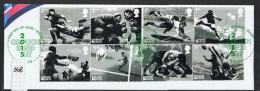 GB 2015 Rugby Set USED On Piece - 1952-.... (Elizabeth II)