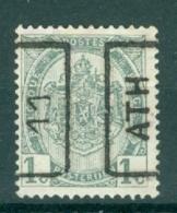 "BELGIE - Preo Nr 1598 A - ""ATH 11"" (ref. 3613) - ROLLER PRECANCELS - Handrol Préos à Roulette - Rolstempels 1910-19"