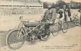 LES SPORTS (cyclisme) - Stayers Et Entraineurs,Victor Turbax,entraîné Par Charles Turbax. - Ciclismo
