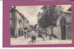 39.- SALINS-LES-BAINS .- Rue De La République - Altri Comuni