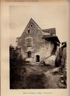 1928 - Héliogravure - Saumur (Maine-et-Loire) - St-Hilaire-St-Florent - Le Manoir Le Mardron à Genne - FRANCO DE PORT - Old Paper