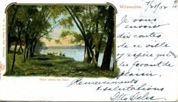 MILWAUKEE - - RIVER ABOVE THE DAM - Milwaukee