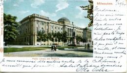 MILWAUKEE - -PUBLIC LIBRARY AND MUSEUM - Milwaukee