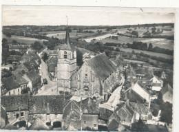 TREIGNY  Vue Aérienne L'Eglise 2 - Treigny